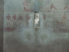 Serdab in mastaba of Ti, 5th Dynasty, photo: Petra Lether