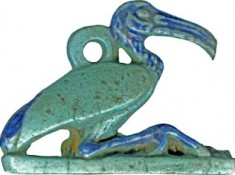 Egyptisch faience, Thot-Ibis, The  Walters Art Museum, Baltimore