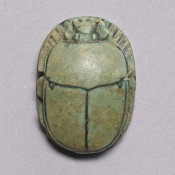 Scarabee amulet, Walters Art Museum Baltimore