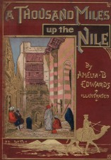 Boek: A Thousand Miles Up the Nile
